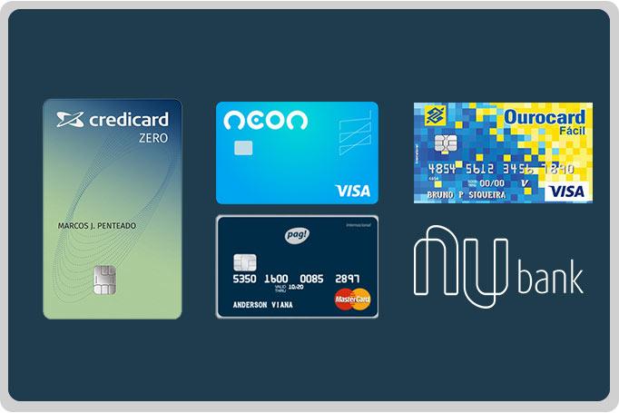 Cartões de Crédito Mais Populares