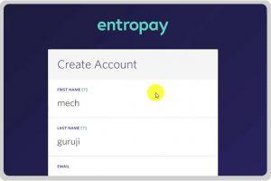 Como Criar uma Conta no Entropay