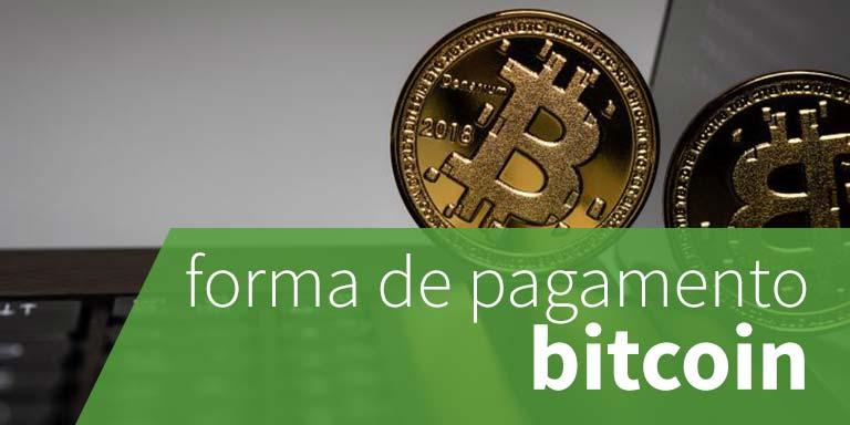 forma de pagamento bitcoin