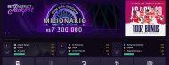 imagem do ecrã vbet casino interface